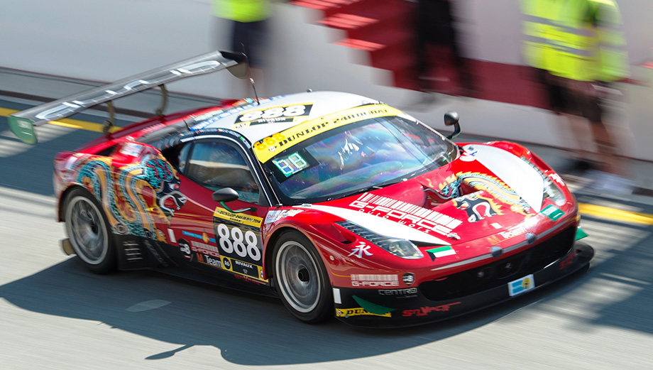 Ferrari 458 Italia Gt3 Dragonracing Racing Car Experiences In